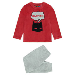 Pyjama en velours bicolore BATMAN