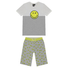 Junior - Pyjama en jersey avec print ©Smiley