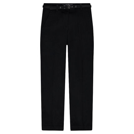 Junior - Pantalon 7/8ème en twill