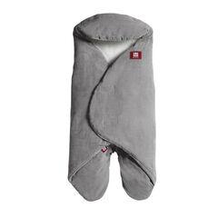 Couverture à emmaillotter Babynomade 0-6 mois - Chambray Grey