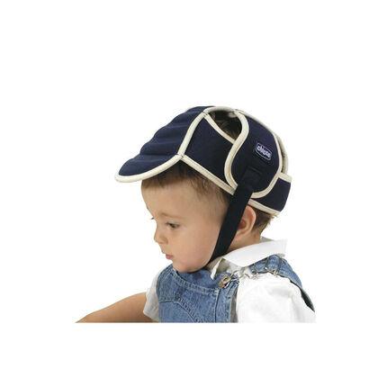 Bonnet de protection matelassé - Bleu
