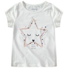 9c3aa41e152 T-shirt manches courtes avec étoiles printée
