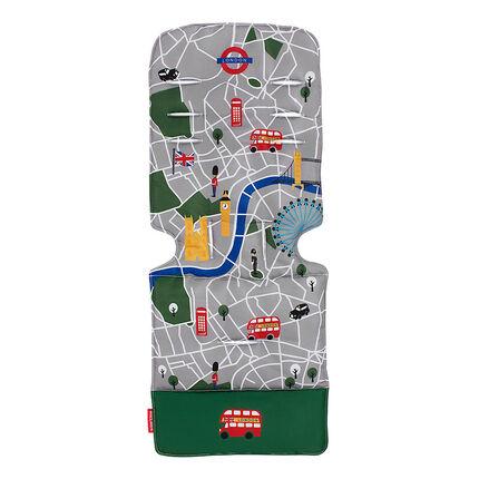 Coussin pour poussette - London City Map