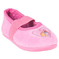 Chaussons babies roses avec patch Disney Winnie