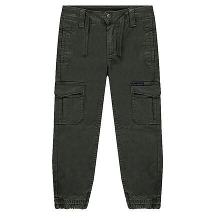Pantalon en lyocell à multi poches