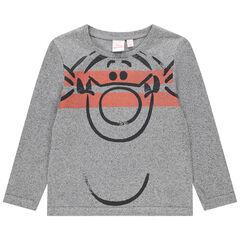 T-shirt manches longues en jersey print Tigrou Disney