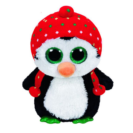 Peluche mini 1er age Freeze le Pingouin