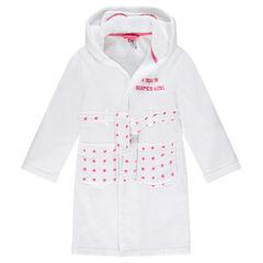 Junior - Peignoir fantaisie en coton éponge