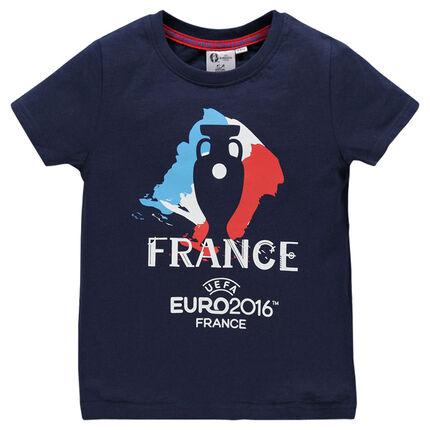 Tee-shirt manches courtes EURO 2016™ print France et coupe