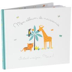 Album de naissance motif animaux de la jungle , Prémaman