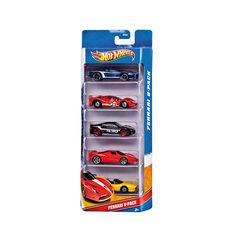 Hot wheeld 5 car giftpack