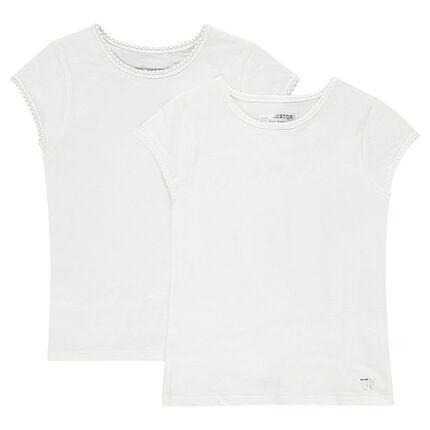Lot de 2 tee-shirts manches courtes (maillots de corps)