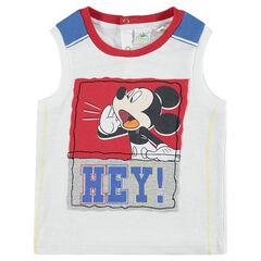Débardeur en jersey Disney avec Mickey printé