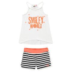 Junior - Pyjama débardeur et short Smiley