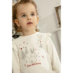 T-shirt manches longues à motifs esprit Noël