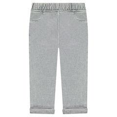Pantalon de jogging en molleton surteint
