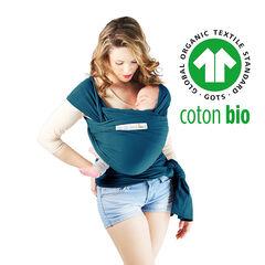 Echarpe de portage en coton Bio - Bleu Rétro , Love Radius