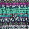 Robe en voile imprimé ethnique
