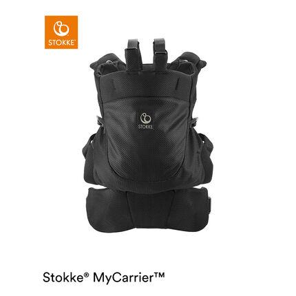 Porte-bébé dorsal MyCarrier - Mesh Noir