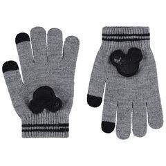Gants en tricot avec Mickey en sequins Disney