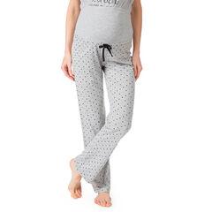 Pantalon homewear de grossesse imprimé all-over