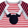 Combinaison longue en tricot stylé rétro avec serti Mickey ©Disney