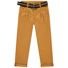 Pantalon forme chino à ceinture amovible , Orchestra