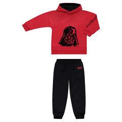 Jogging en molleton bicoloe avec print Dark Vador Star Wars™