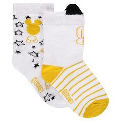 Lot de 2 paires de chaussettes ©Disney motif Mickey