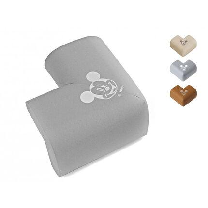 Lot de 4 protections d'angles Mickey - 7 x 7 x 4,5 cm
