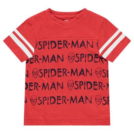 Tee-shirt manches courtes en jersey avec prints ©Marvel Spiderman