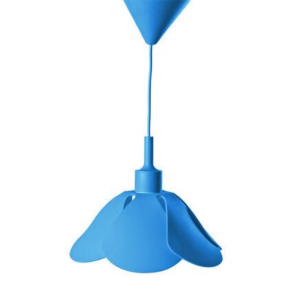 Lampe suspendue en silicone - Bleu