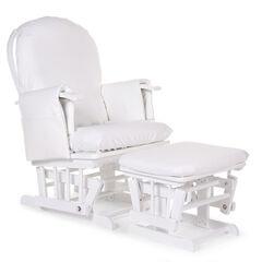 Housse éponge pour fauteuil d'allaitement - Blanc