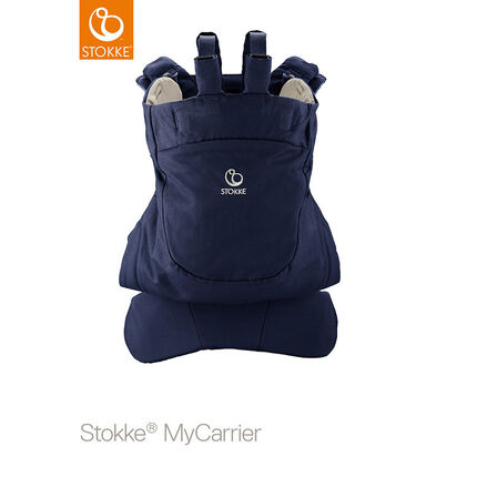 Porte-bébé ventral et dorsal MyCarrier – Bleu profond