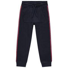 Pantalon de jogging en molleton à poche et bandes contrastées , Orchestra