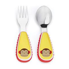 Fourchette et cuillère Zoo – Singe