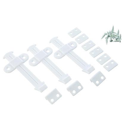 Lot de 3 bloques tiroir - Blanc