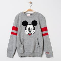 Pull en tricot motif Mickey Disney et bandes