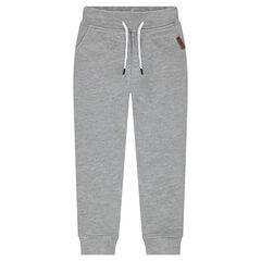 Junior - Pantalon de jogging en molleton uni