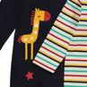 Lot de 3 dors-bien en jersey avec animaux printés