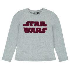 Junior - Tee-shirt manches longues print sequins magiques Star Wars™