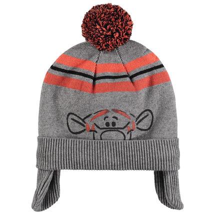 Bonnet en tricot doublé sherpa print Tigrou Disney