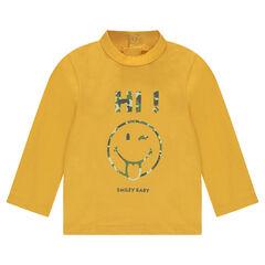 Sous-pull en jersey print ©Smiley