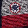 Gilet en tricot avec badge ©Smiley