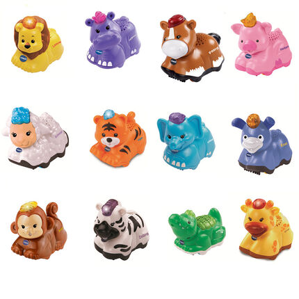 Jouets Animaux de la jungle - Multicolore