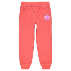 b02c0285b11c2 Junior - Pantalon de jogging en molleton avec print fantaisie