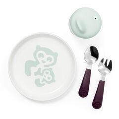 Set repas Munch Essentiels - Vert menthe , Stokke