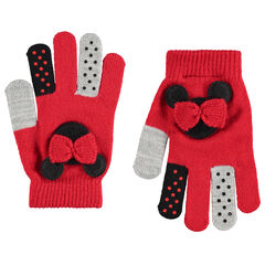 Gants en tricot Minnie