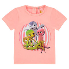 Tee-shirt manches courtes print Sammy & Co