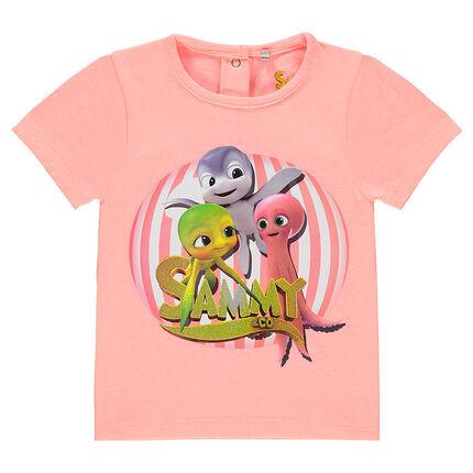 Tee-shirt manches courtes print Sammy & Co